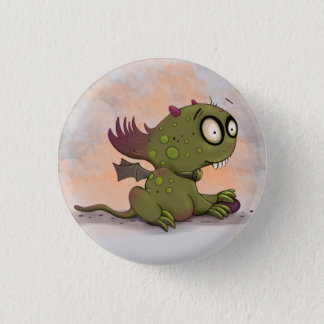 OLEZO ALIEN-MONSTER-CARTOON   runder Knopf klein Runder Button 3,2 Cm