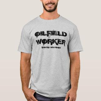 Ölfeld-Arbeitskraft-T - Shirt