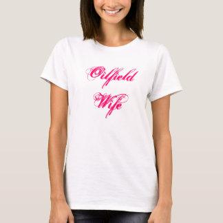 Ölfeld-Ehefraut-shirt T-Shirt
