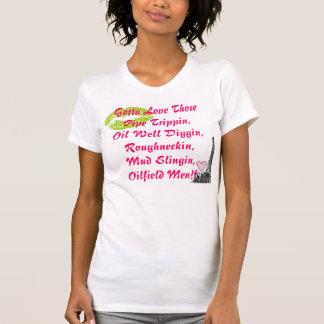 Ölfeld-Männer T-Shirt