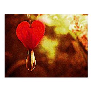 Ölgemälde: Das Herz der Natur Postkarte