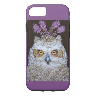 Olive das Owlet iPhone 8/7, starker Telefon-Kasten iPhone 8/7 Hülle