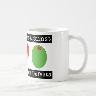 Olive des Herzens I VERBINDEN DIE Kaffeetasse