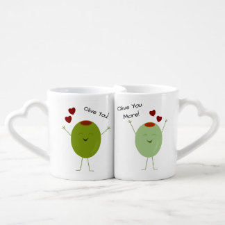 Olive die Liebe personalisiert Liebestassen