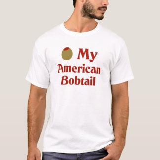 Olive (i-Liebe) meine amerikanische Bobtail Katze T-Shirt