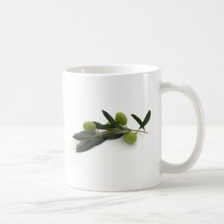 Olive Kaffeetasse