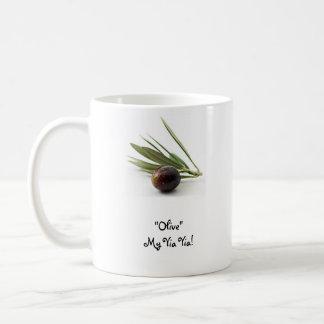 """Olive"" mein Yia Yia! Kaffeetasse"