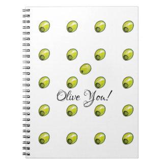 Olive Notizblock