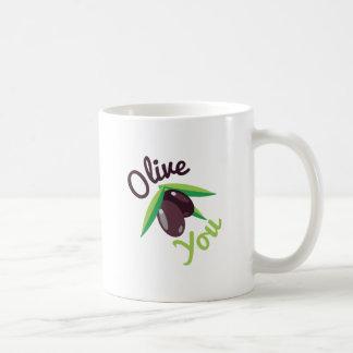Olive Sie Kaffeetasse