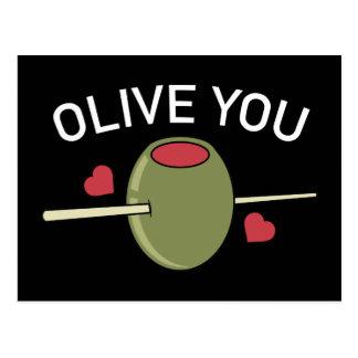 Olive Sie Postkarten