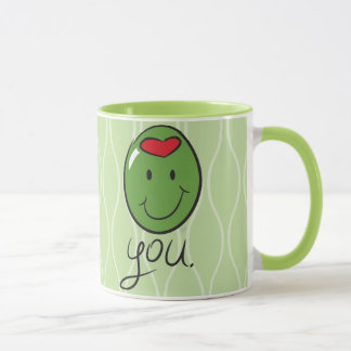 Olive Sie Tasse