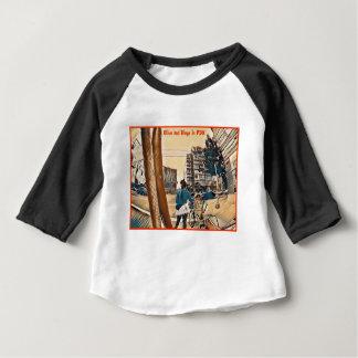 Olive und Dingo in PDX Baby T-shirt