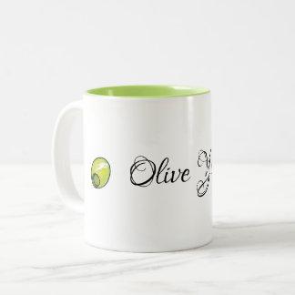 Olive Zweifarbige Tasse