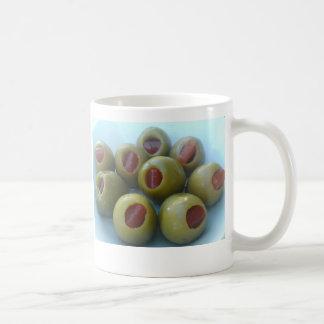 Oliven Kaffeetasse