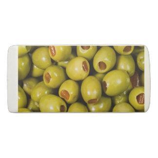 Oliven Radiergummi 1