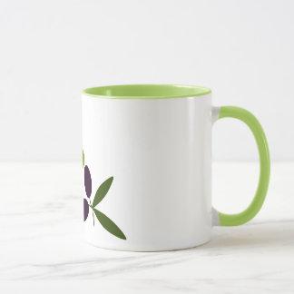 Oliven Tasse