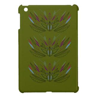 Oliven-Vintages Entwurf ethno iPad Mini Hülle
