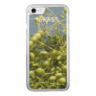 Olivenbaum in Israel Carved iPhone 8/7 Hülle