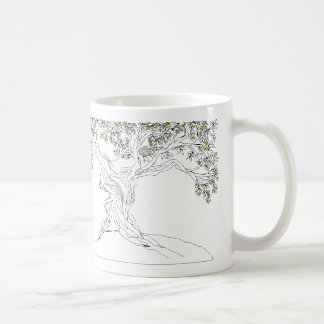 Olivenbaum Kaffeetasse