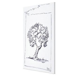 Olivenbaum | südlich von Frankreich Leinwanddruck