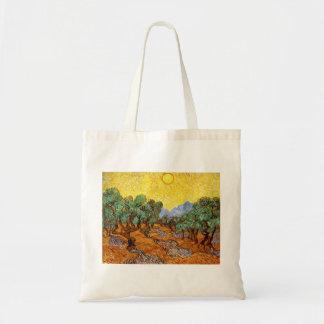 Olivenbaum-Taschen-Tasche Van Gogh Budget Stoffbeutel