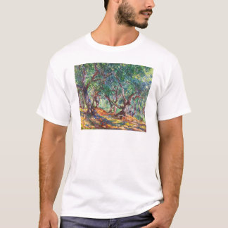 Olivenbäume in Bordighera, Claude Monet 1884 T-Shirt