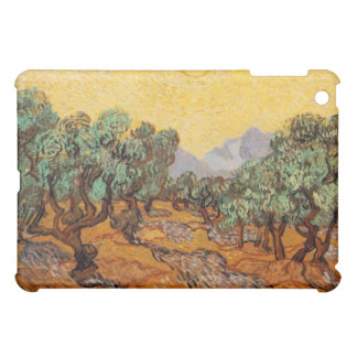 Olivenbäume mit gelbes Himmel und Sun iPad Fall iPad Mini Hülle