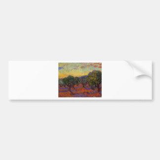 Olivenbäume - Vincent van Gogh Autoaufkleber