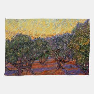 Olivenbäume - Vincent van Gogh Küchentuch