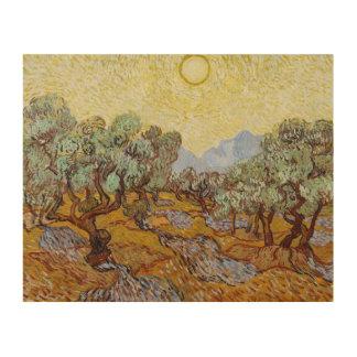 Olivenbäume Vincent van Goghs |, 1889 Holzleinwand