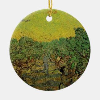 Olivenhain-Sammeln-Zahlen Van Gogh, schöne Kunst Keramik Ornament