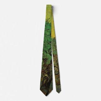 Olivenhain-Sammeln-Zahlen Van Gogh, schöne Kunst Krawatte