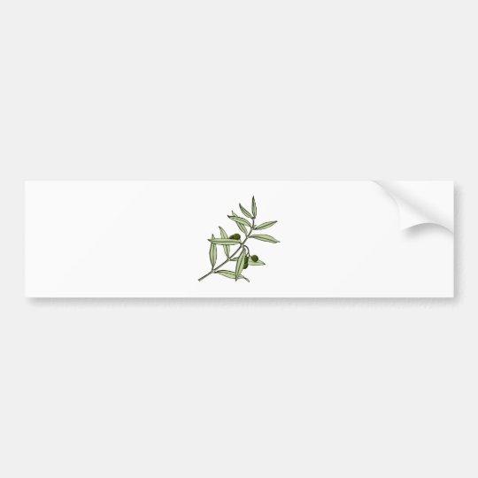 Olivenzweig olive twig autoaufkleber