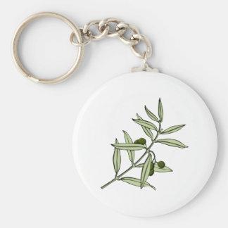 Olivenzweig olive twig schlüsselanhänger