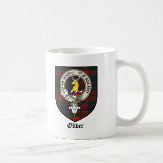 Oliver-Clan-Wappen-AbzeichenTartan Kaffeetasse
