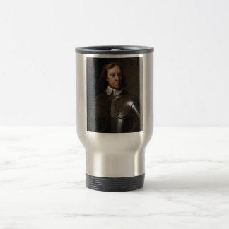 Oliver Cromwell-Malen Reisebecher