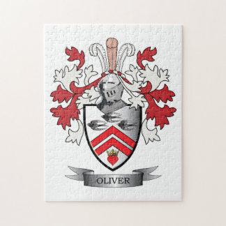 Oliver-Familienwappen-Wappen Puzzle