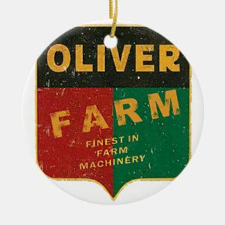 Oliver-Landwirtschaft Keramik Ornament