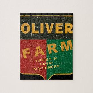 Oliver-Landwirtschaft Puzzle