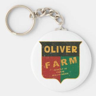 Oliver-Landwirtschaft Schlüsselanhänger