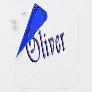 Oliver, Name, Logo, Reversible-gemütlich Puckdecke