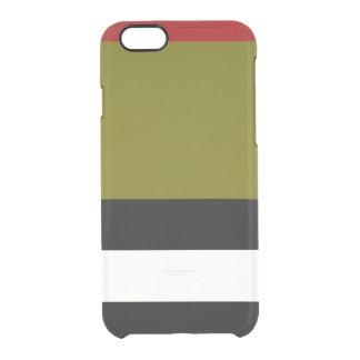 Olivgrüner BW iPhone 6s Ablenker-Kasten Durchsichtige iPhone 6/6S Hülle
