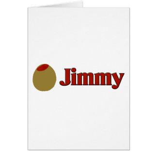 Olivgrüner (i-Liebe) Jimmy Karte