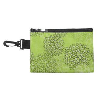 Olivgrünes Grün-Blumen-Explosion