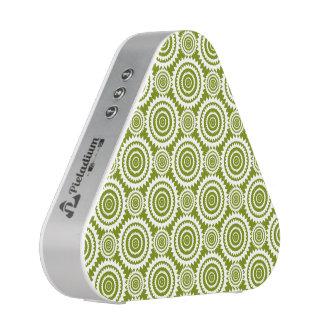Olivgrünes Grün-geometrischer Entwurfs-niedliches Bluetooth Lautsprecher