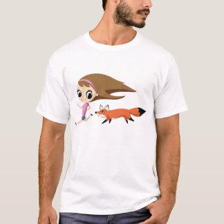 Olivia und Cheddarkäse T-Shirt