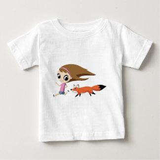Olivia und entfernen den Fox die Molke Baby T-shirt