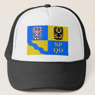 Olomouc Flagge Truckerkappe