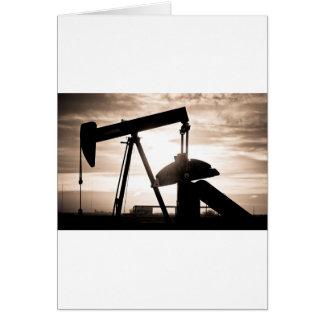 Ölquelle-Pumpe Karte