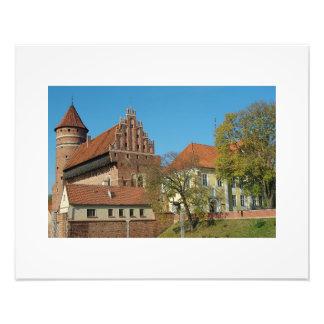 Olsztyn mittelalterliches Schloss III - Foto